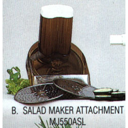 Slow Juicer With Salad Maker : Salad Maker Attachment for MJ550 Electric Wheat Grass Juicer, Miracle Exclusives